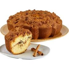 Cinnamon Walnut Coffee Cake, Serves 8