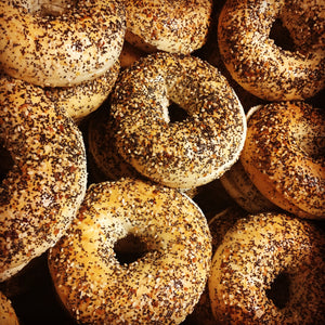 Bagel Platter ONE DOZEN w/ Cream Cheese