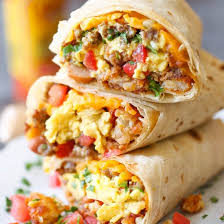 POW-WOW! Breakfast Burrito & Coffee Package