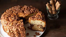 Load image into Gallery viewer, Cinnamon Walnut Coffee Cake, Serves 8