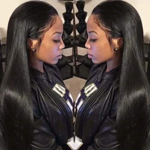 S105| 360 Lace Frontal Wigs Human Hair Straight Wigs