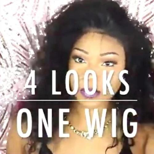 C145| New Fashion 4 In 1 Long Curly Wig| 360 Lace