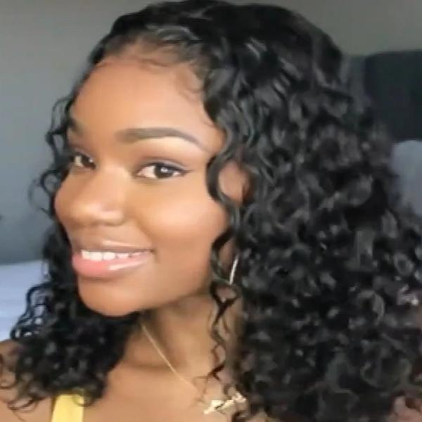 C115| 360 LACE FRONT CURLY WIG HUMAN HAIR