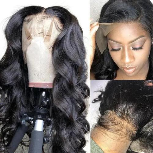 W110| Body Wave Lace Frontal Human Hair Wig| Black
