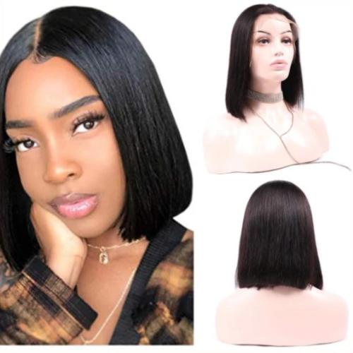 SB105 | Straight Baby Hair Can be permed Bob Lace Wig