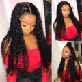 C106| Peruvian Curly Human Hair Wig Lace Front Wigs| 360 Lace