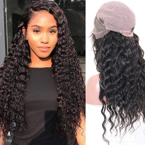 C313| Human Hair Wigs Glueless Lace Front Wigs Free Prat