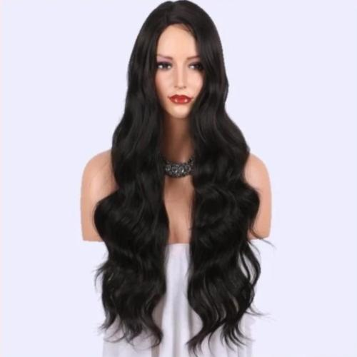 W318| Natural Looking Long Wavy Right Side Parting Wig 24 inches