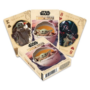 Description:With 54 different images of The Child, this deck of cards is full of cuteness. Its certainly a refreshing look to the old classic Ace, King, Queen.Dimensions: 6x8.5cmFinish: Linen type finishBrand: Star Wars: The Mandalorian, Aquarius CardsBoxed: yes Default Title 10.00 AUD