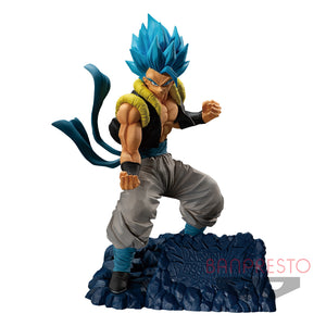 Dragon Ball Z Figurine - Super Saiyan Blue Gogeta - Dokkan Battle - 5th Anniversary