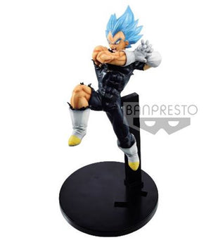 Description:The Prince himself ready to do all he can to protect the ones who are important to him. He will continue to work hard until they are. Brand: Banpresto, September 2019, Super Saiyan Blue, Super Tag Fighters, VegetaBoxed: yes Default Title 45.00 AUD