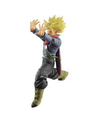 Description:Trunks showing off just how badass he is - not that we ever doubted him - with his fathers Galick Gun move, worthy of taking down Zamasu, or Goku BlackDimensions: 17 cm roughlyBrand: Dragon Ball Super, Trunks, BanprestoBoxed: yes Default Title 40.00 AUD