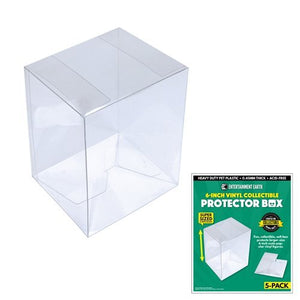 Clear Figurine Display Case  - Pack of 5