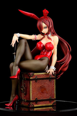 31/10/19 Fairy Tail Figurine – Erza Scarlet, Bunny Girl - Type Rosso