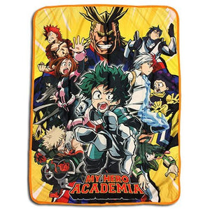 My Hero Academia Throw Blanket - Big Group