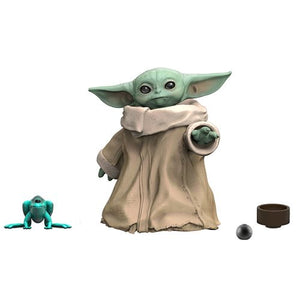 DescriptionWhile its not Master Yoda, this child could one day grow to be just as awesome. At a measly 50 years of age, this adorable little child has already stolen many hearts.  Comes with accessories such as a frog and a bowl Size: About 3cm tall (1.25 inch)Brands: Lucasfilm, Hasbro, Gentle Giant, The Black, The Mandalorian, Star WarsBoxed: Yes   Default Title 20.00 AUD