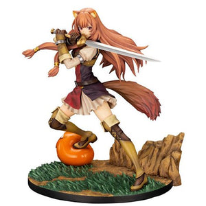 Description:This is what happens when you treat people nicely - you get yourself an excellent fighter who is forever loyal to you. package includes both an illusion sword and a magic sword! Size: 23cm roughlyBoxed: yesBrand: Kotobukiya, The Rising of the Shield Hero, Raphtalia Default Title 275.00 AUD