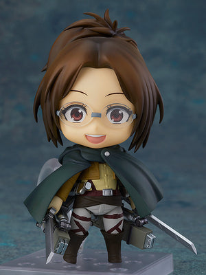 Description:Hange gets way too excited over discovering something new about Titans, but thats exactly why we love her and need her in our collection. Dimensions: 10cm roughlyBrand: Attack on Titan, Good Smile Company, Hange Zoe, Nendoroid Boxed: yes Default Title 85.00 AUD