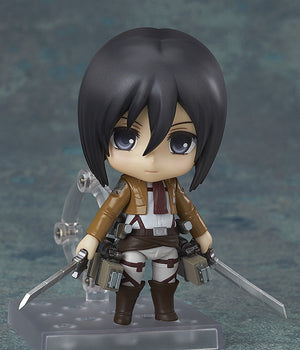 Description:Mikasa is turning out to be one of the most deadly of Scouts there is, especially when Eren is at risk. Nothing will stop her from protecting him.Dimensions: 10 cm roughlyBrand: Attack on Titan, Good Smile Company, Mikasa Ackerman, NendoroidBoxed: yes Default Title 80.00 AUD