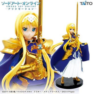 Description:With her sword at the ready, Alice is ready to defend those she loves, and the ideals she stands by. Lets hope your on the right side of the fight. Weight: 0.4kgDimensions: 18cm roughlyBrand: Alice Zuberg, Sword Art Online TaitoBoxed: yes Default Title 37.00 AUD