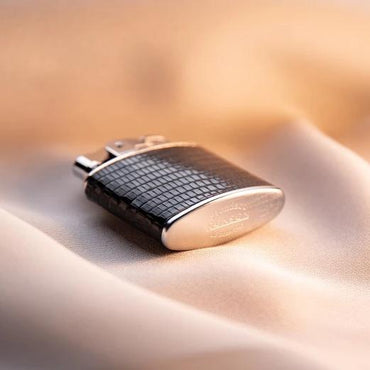 Lizard Leather Wrapped Luxury Clipper Lighter