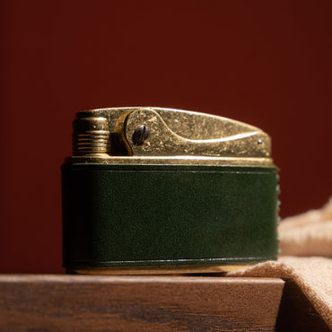 Luxury Antique Brass Pocket Oil Lighter