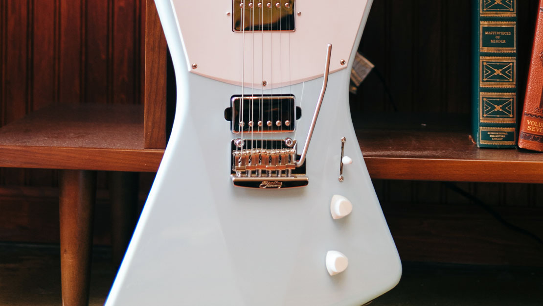 Sterling in Music Man St Vincent HH in Daphne Blue