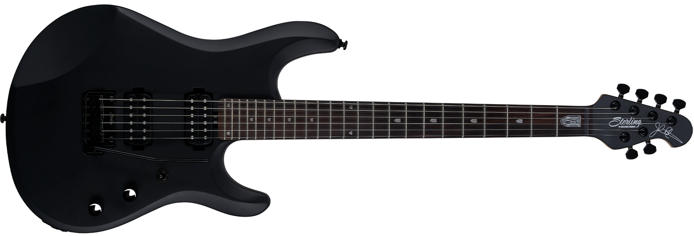 The JP60 guitar in Stealth front details.