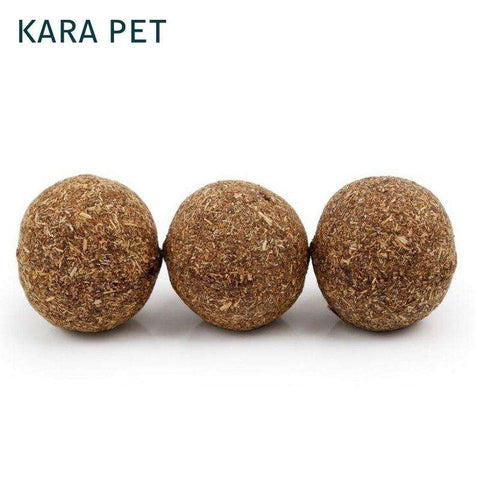 Cat Toy Natural Catnip Ball Menthol Flavor