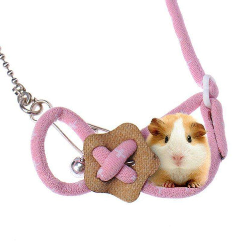 Hamster Harness Leash Guinea Pig Chest Strap