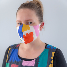 Load image into Gallery viewer, Reusable face mask - Claire Ritchie, Cream
