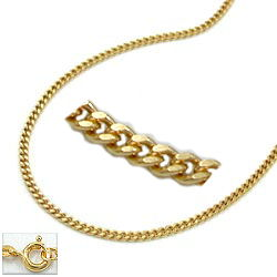Kette, Panzerkette, 9Kt GOLD 1,3mm