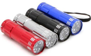 UV Bright 14 LEDCard Inspection Flashlight
