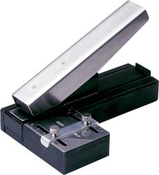 Desktop Stapler Style Slot Punch with Guide