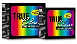 "YMCKO Zebra I Series ""TruColours"" 5 Panel Color Ribbon Cartridge for P210i"