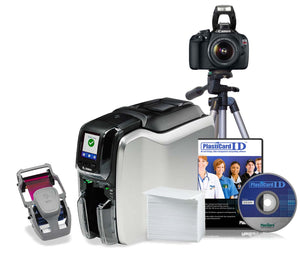 Zebra ZC300 Professional Bundle - Dual-Sided with Canon DSLR Camera