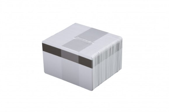 Evolis  PVC BLANK CARDS -WHITE - MAG LOCO - 30MIL - 5 Packs of 100 Cards
