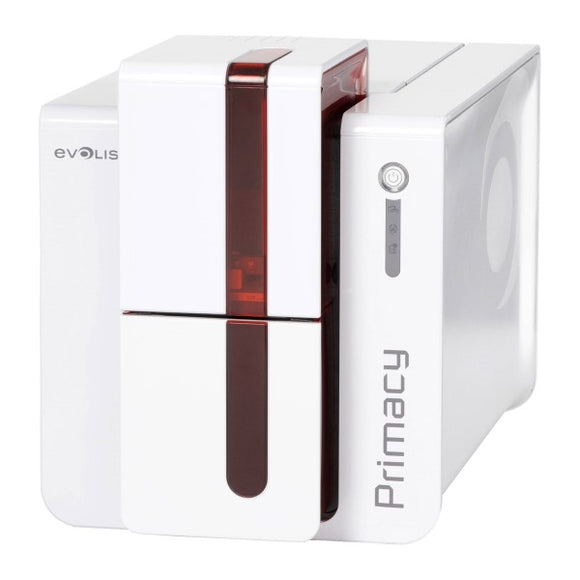 Evolis  Primacy Duplex Expert  Fire Red