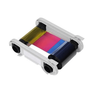 Evolis  1/2 YMCKO-KO Color Ribbon - 250 Prints / Roll