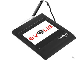Evolis  Sig Activ Signature Pad, Color 5 Interactive LCD Signature Pad with Backlight, USB