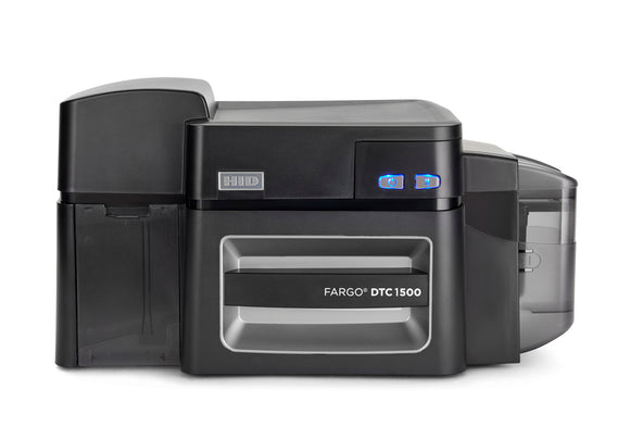 HID  DTC1500 Dual-Sided Printer + ICLASS, MIFARE/DESFire, and Contact Smart Card Encoder