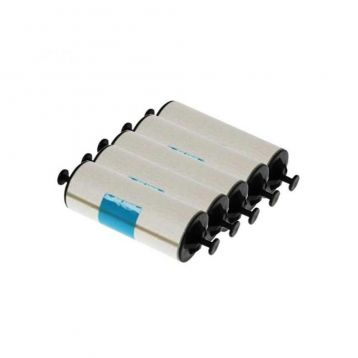 Zebra ZXP Series 7 adhesive cleaning rollers, set of 5