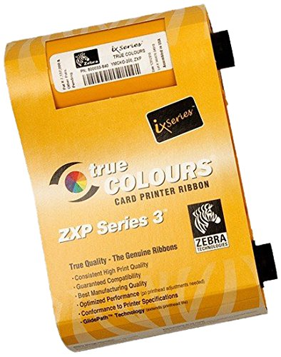 Zebra ix Series monochrome ribbon for ZXP Series 3 Metallic Silver, 1000 images