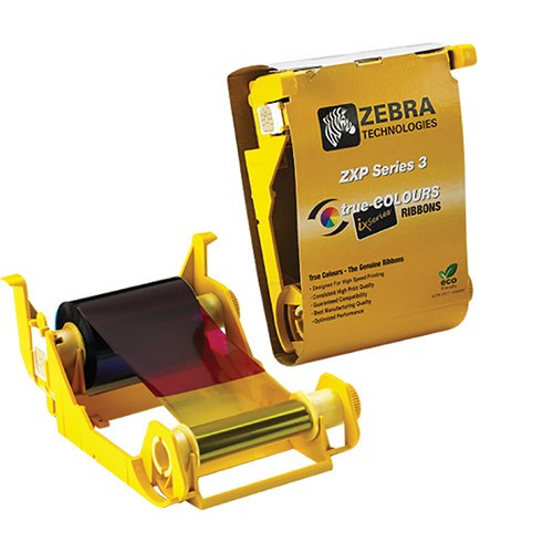Zebra ix Series color ribbon for ZXP Series 3 YMCKOK, 165 images