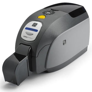 Zebra ZXP Series 3 Single-Sided Card Printer with USB, US Power Cord, Contact Encoder + Contactless MIFARE