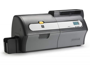 Zebra ZXP Series 7 Dual-Sided Card Printer with Magnetic Encoder, Barcode Scanner, USB and Ethernet Connectivity, US Power Cord