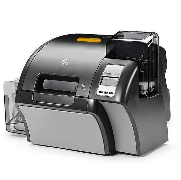 Zebra ZXP Series 9 Retransfer Single-Sided Card Printer with USB and Ethernet Connectivity, US Power Cord