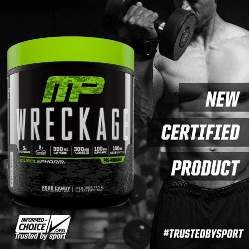 Musclepharm Wreckage Pre Workout Review