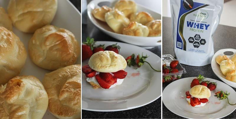 Clean Nutrition Mini Protein Pavlovas Recipe