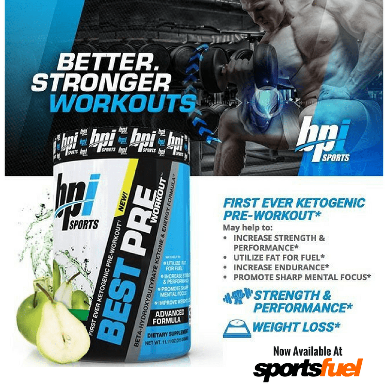 NEW! BPI Best Pre Workout Review